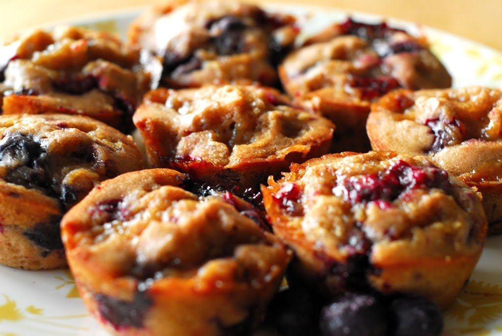 Beer Berry Muffins