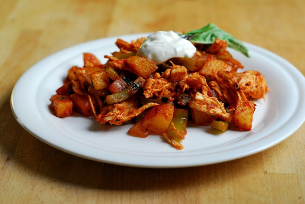Chicken Hash - A Duck's Oven