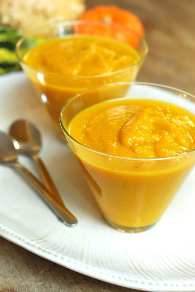 Butternut Squash and Apple Soup from A Duck's Oven. Filling, wholesome ...