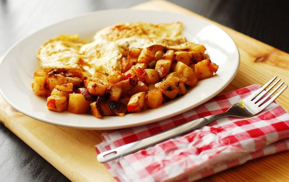 Simple Breakfast Hash