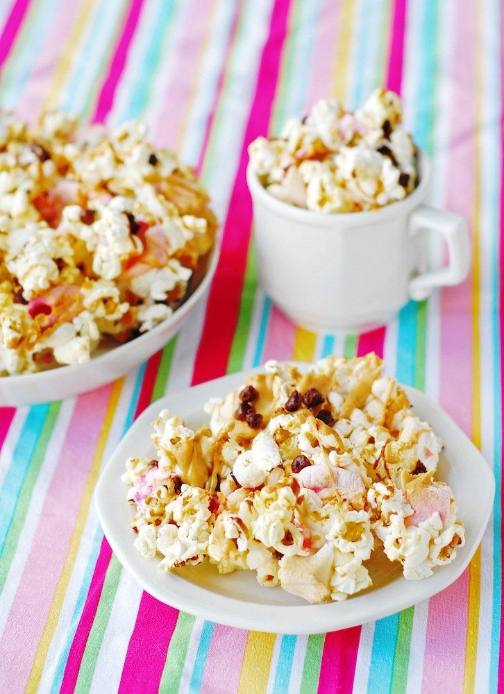 Peanut Butter S'mores Popcorn