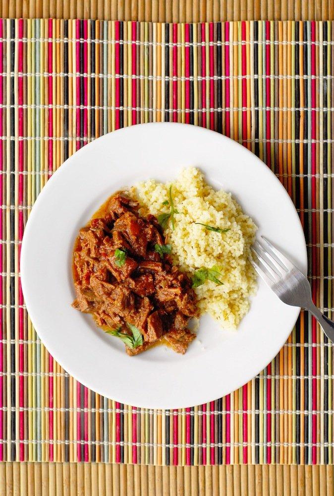 Spicy Ethiopian Stewed Beef (Key Wat)