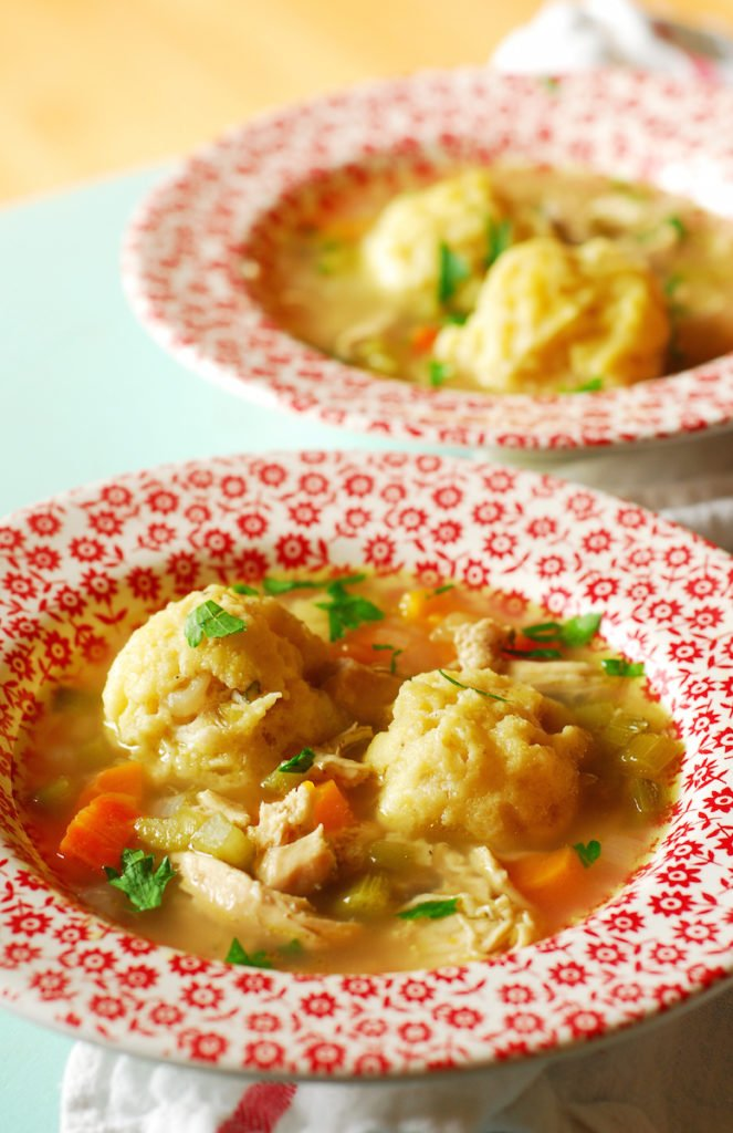 Paraguyan Chicken Soup with Dumplings